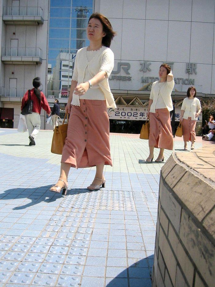 2002年当時の水戸駅前
