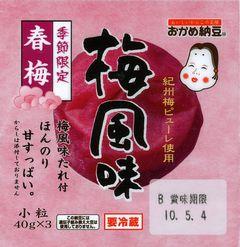 梅風味(タカノフーズ)