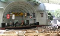 上野水上音楽堂 野外ステージ