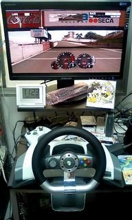 20090124 01 ワイヤレスレーシングホイール