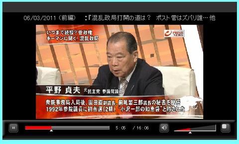 hirano クリック番組スタート  ・「日本一新運動」の原点―59 続き > 平野貞夫『 現内