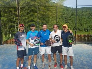 パデル テニス スカッシュ スペイン コーチ