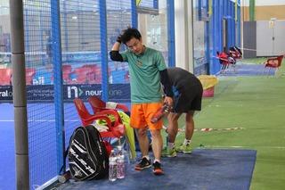 パデル テニス ドロップショット ラケット スペイン