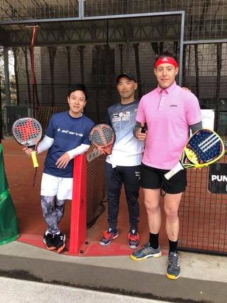 パデル テニス スカッシュ スペイン 全日本