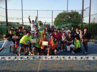 パデル東京 ダブルス テニス padel