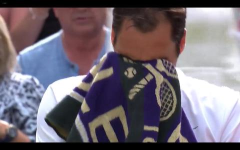 ウィンブルドン2017フェデラー優勝8