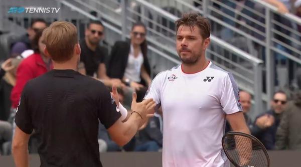 ワウリンカは今のテニス界の政治的な動きに相当不満あるみたいね