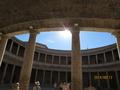 カルロス5世宮殿 灼熱太陽