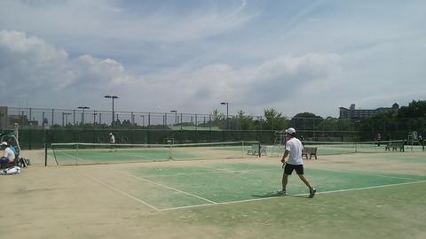 帰帆島テニスコート