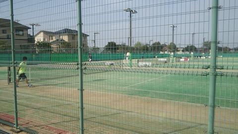 草津市弾正テニスコート