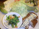 ダイアナランチ(ライス・お汁・コーヒー付)¥700