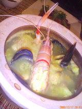 土鍋のブイヤーベース