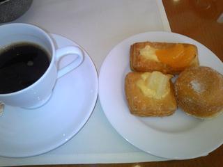 朝食のデザート