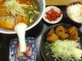 A定食(辛口ラーメン)