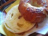 ベーグルバタートースト(チーズ)
