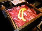 牛蒸し(下に野菜敷き)