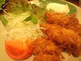 カキフライ(単品)¥1000