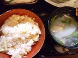 筍御飯とゲンゲの吸い物