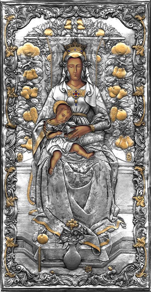La Madonna Della Candeletta (by Carlo Crivelli)