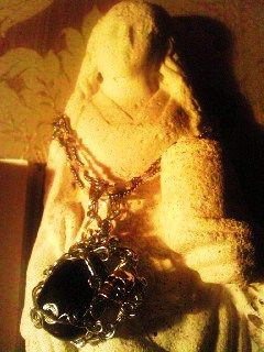 Saint Mary Magdalen with crazystone