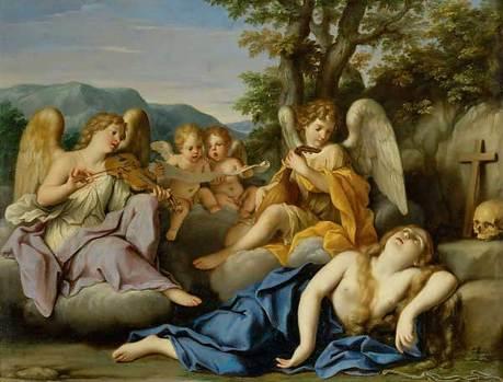Die Ekstase der hl. Magdalena (1688)
