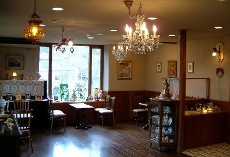 天使巡礼天使堂カフェコーナー