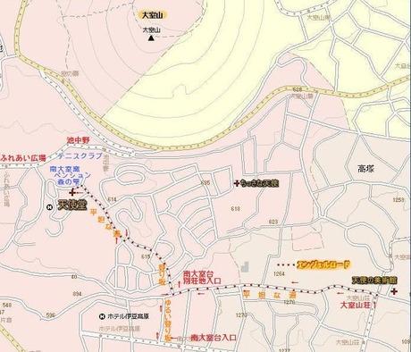 エンジェル・ロード@伊豆高原 案内マップ