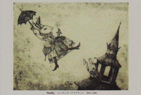 百瀬靖子 展 ―動物と寓話―