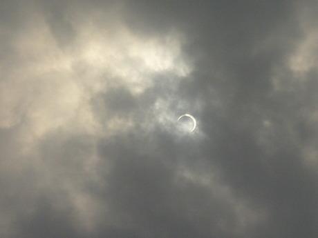金環日蝕 2012.5.21 7時??分