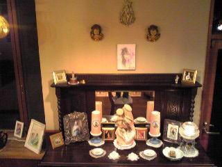 幻天使の百合の花 展示風景 正面