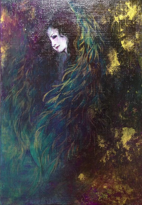 「堕天使II」 由木りび