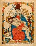 「七つの悲しみの聖母」 1772~1828年 木版、手彩色