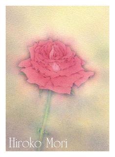 「薔薇2」 森寛子