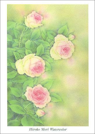 森寛子水彩画作品展「花物語 Ⅱ」
