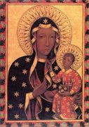 聖母子像 シエナ派 キャンバスに油彩 15世紀