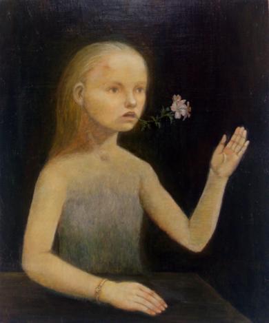 「儚きもの」 油彩 F8 2009