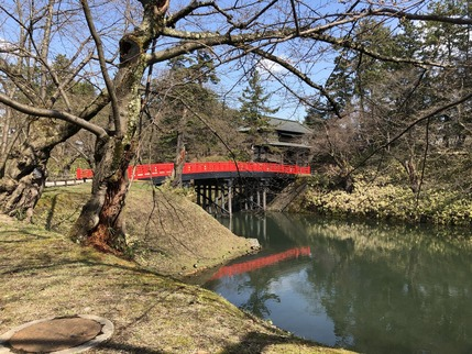 中壕と杉の大橋
