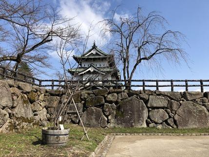 二の丸から弘前城
