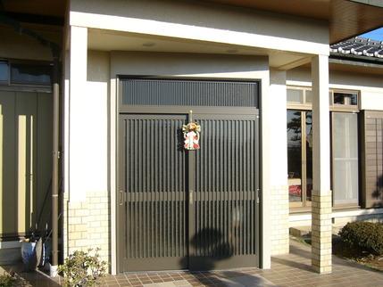 2009.1.1 梅山邸玄関