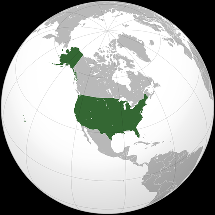アメリカ合衆国国土