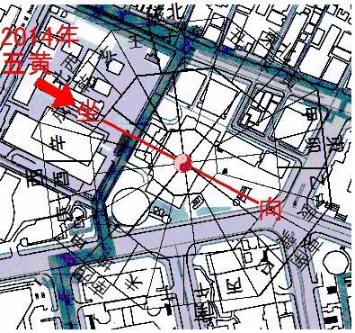 日本マクドナルドホールディングス風水地図