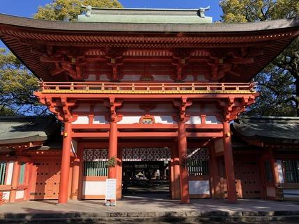 大宮氷川神社の前殿