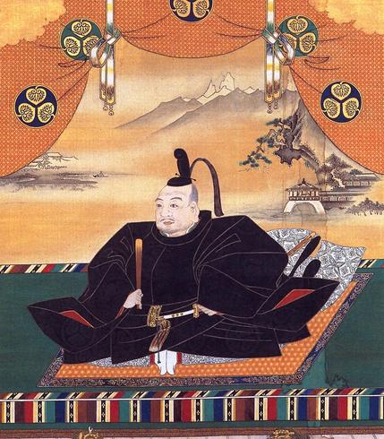 狩野探幽による徳川家康肖像画