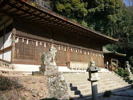 宇治上神社の狛犬一対