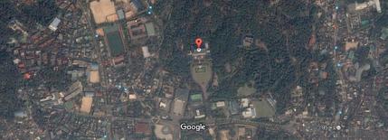 青瓦台周辺衛星画像