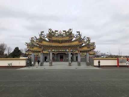 聖天宮の天門