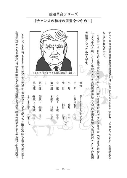 D.トランプ大統領の宿命DNA