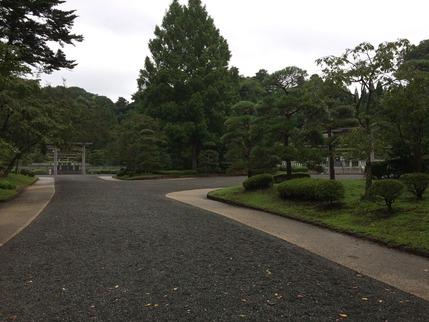 昭和天皇陵と香淳皇后陵
