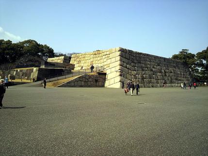 江戸城天守台跡