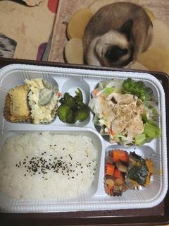 お野菜いっぱい・蒸し鶏のサラダ仕立て